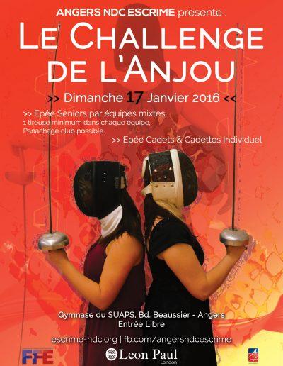 Challenge de l'Anjou 2016