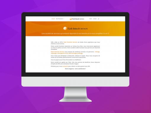 Site de Flash Domicile Services